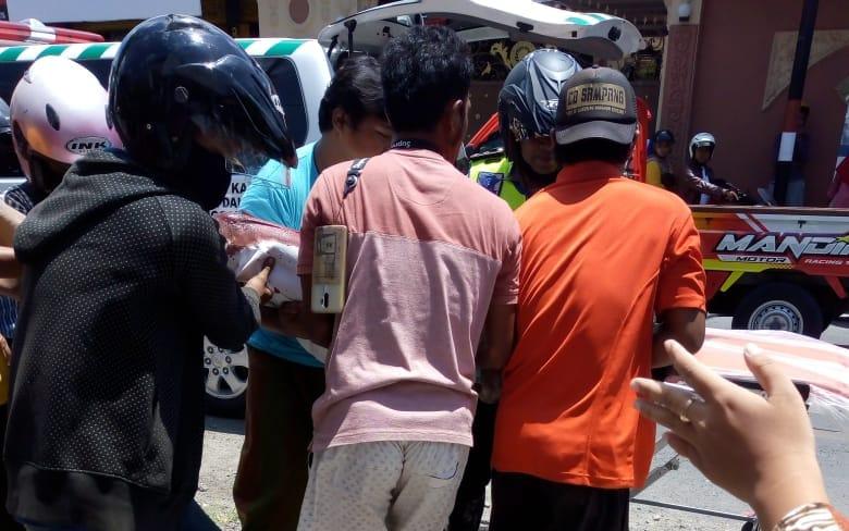 Pengendara Motor Meninggal di Sampang