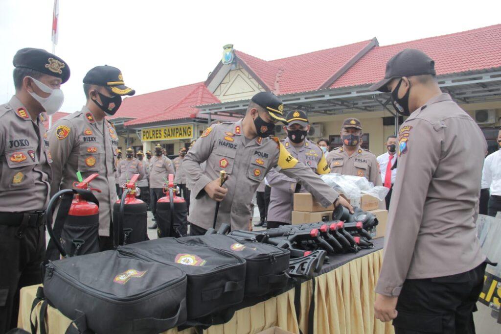 Polres Sampang Siap Bantu Pengamanan Pilkada Sumenep