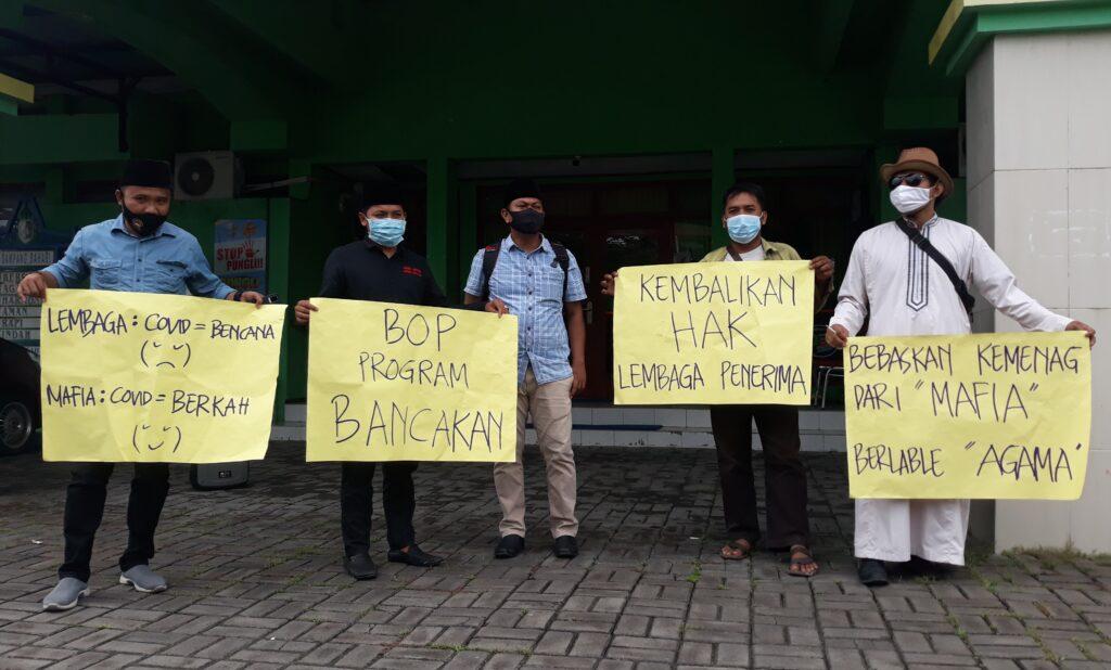 Persoalkan BOP, Jaka Jatim Lakukan Audiensi Ke Kemenag Sampang