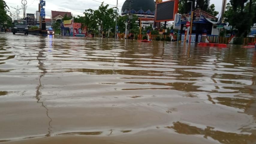 Intensitas Hujan Tinggi, Sampang Kembali Banjir