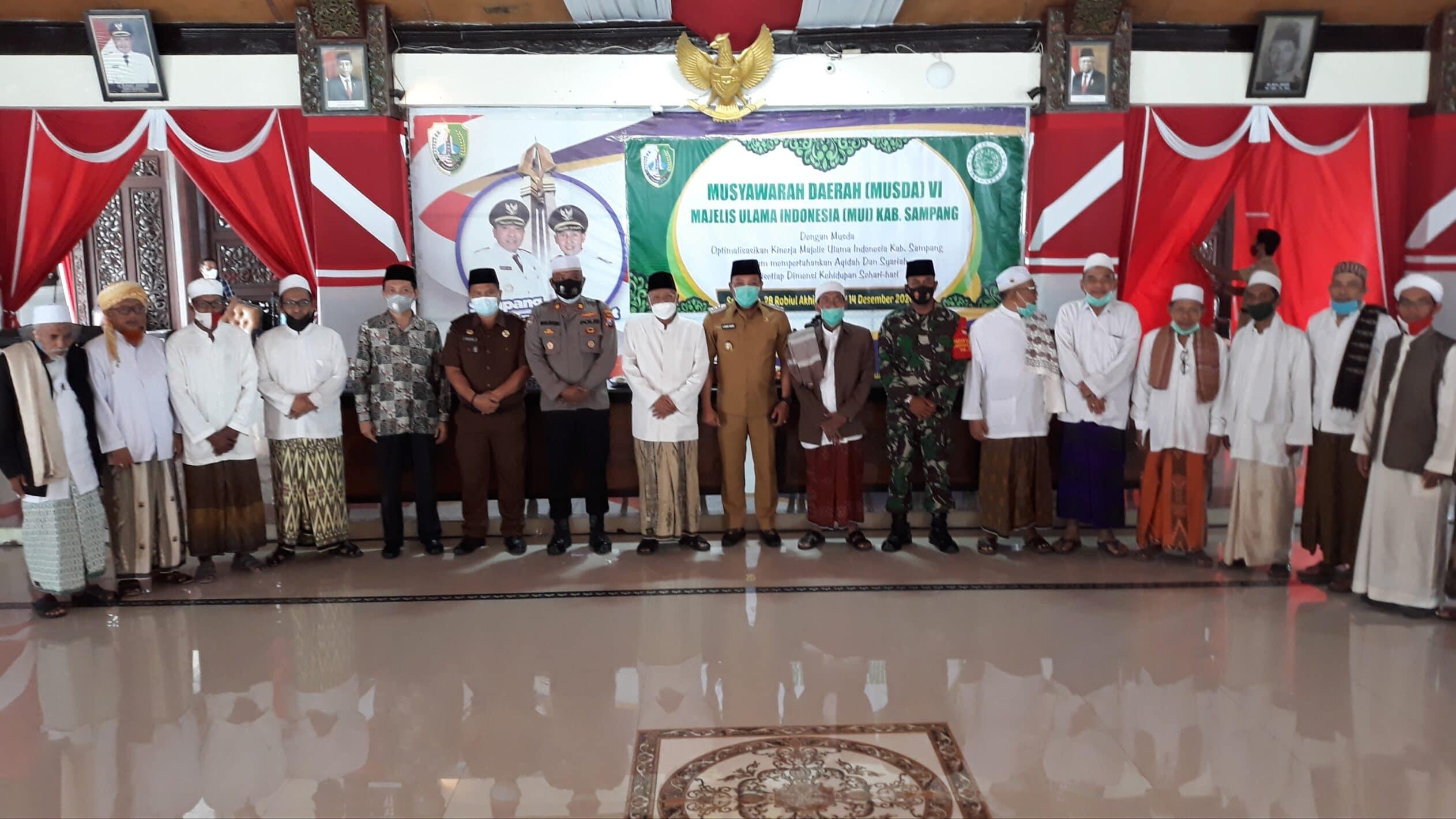 Gelar Musda Ke - VI, Ini Tujuan MUI Kabupaten Sampang