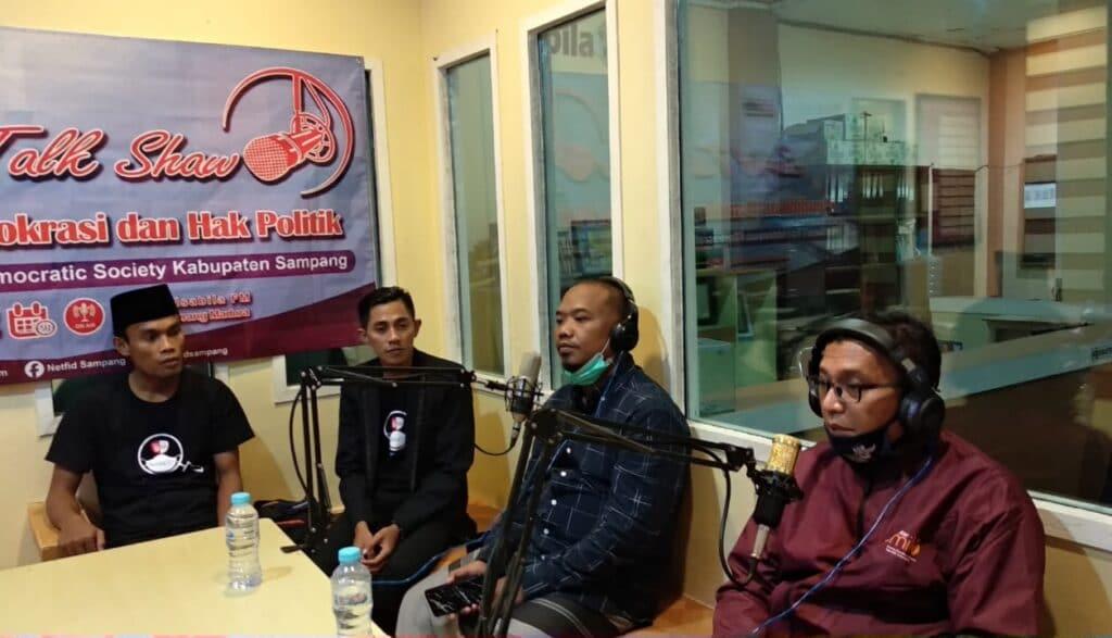 Netfid Kabupaten Sampang Fokus Berikan Pendidikan Demokrasi dan Kepemiluan | On Salsabila FM