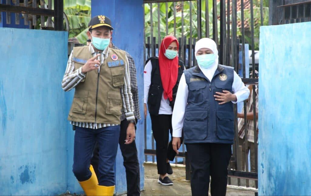 Tinjau Banjir di Sampang, Ini Rencana Besar Gubernur Jatim Kedepan !