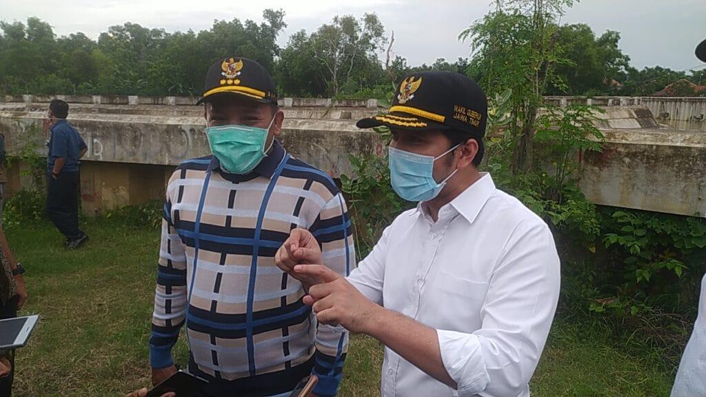 Sampang Banjir, Wakil Gubernur Jatim Tinjau Kerusakan Pompa Air