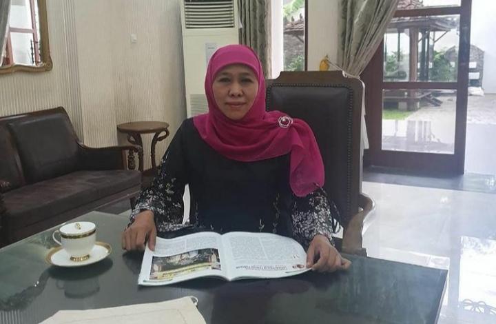 Gubenur Jawa Timur Khofifah Indar Parawansa Positif Covid Tanpa Gejala