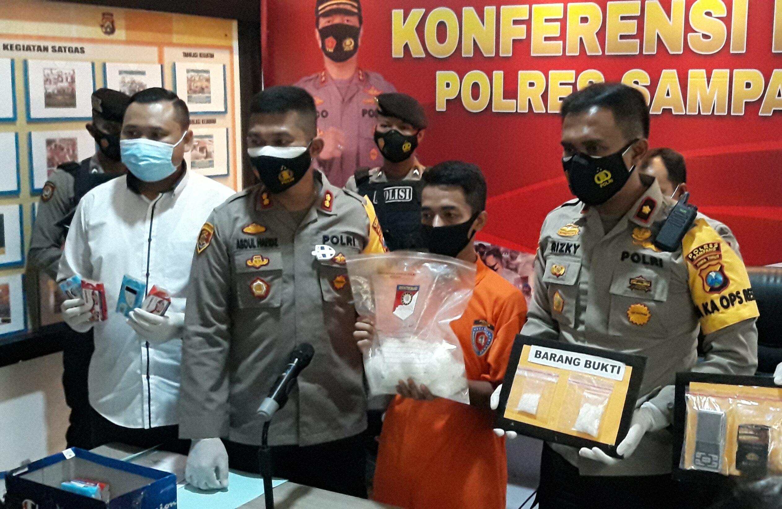 Sembunyikan Sabu Dalam Kemasan Sabun, Satu Kurir Narkotika Diamankan di Sampang