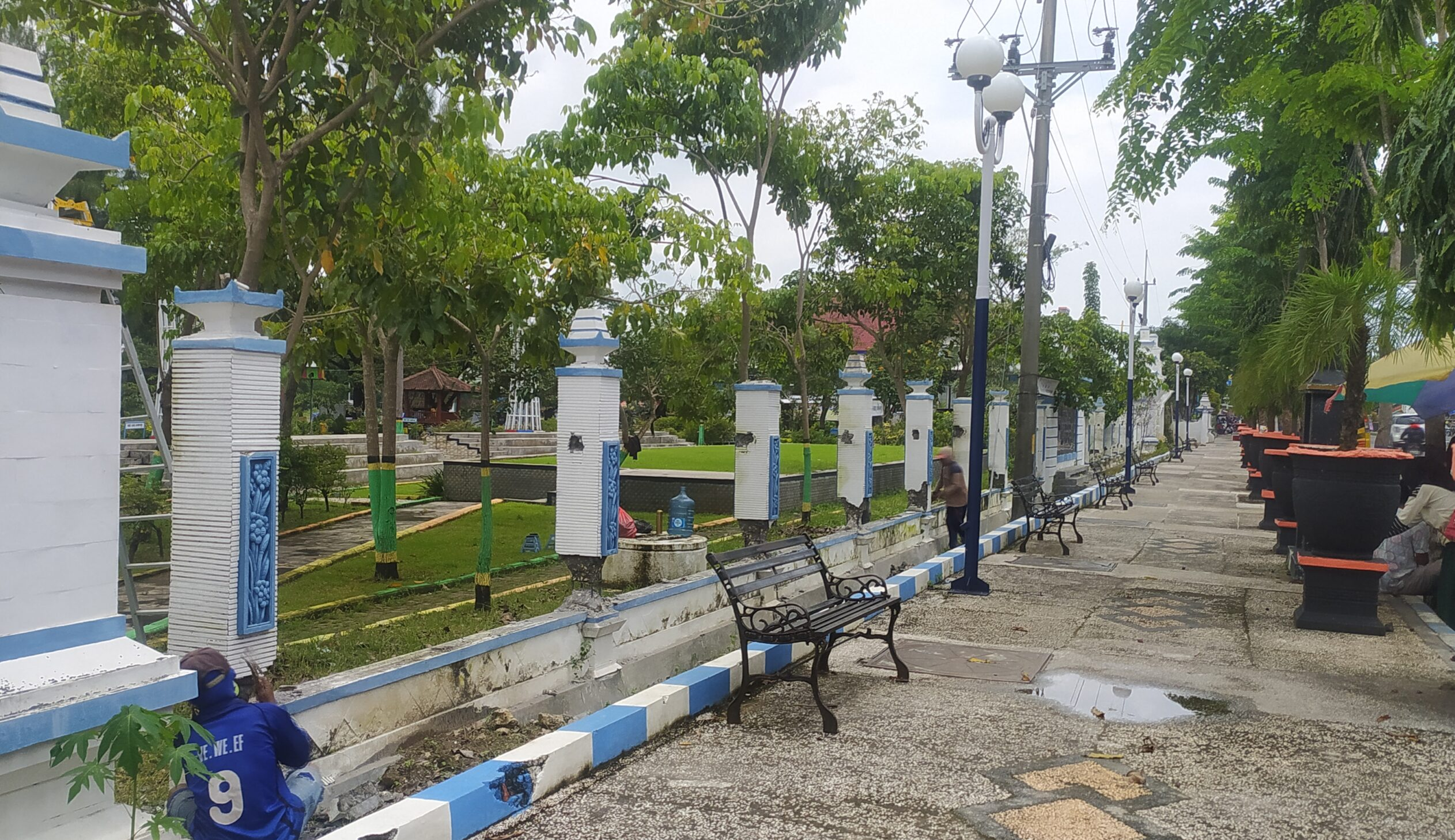 Rubah Wajah Kota Sampang, DLH Gunakan Dana CSR