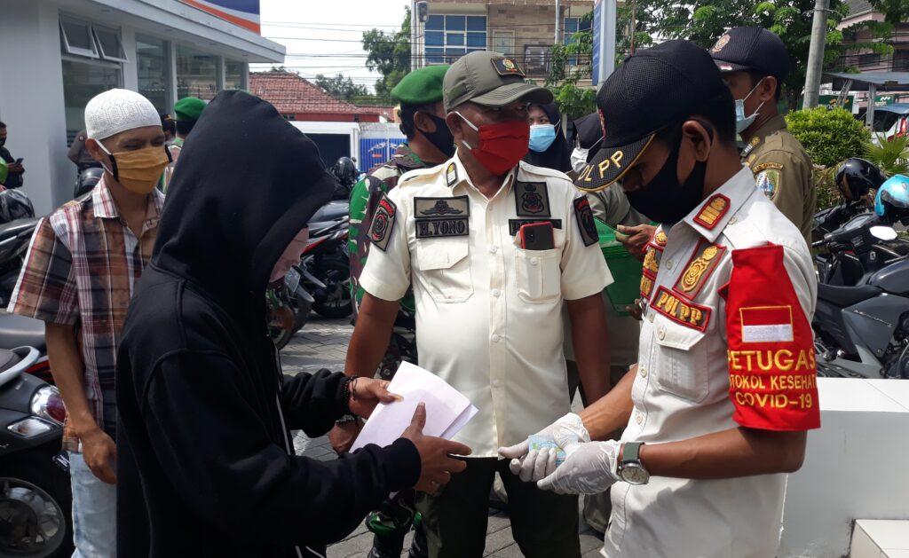 Gelar Operasi Yustisi, Satgas Covid-19 Sampang Jaring 13 Pelanggar Protokol Kesehatan