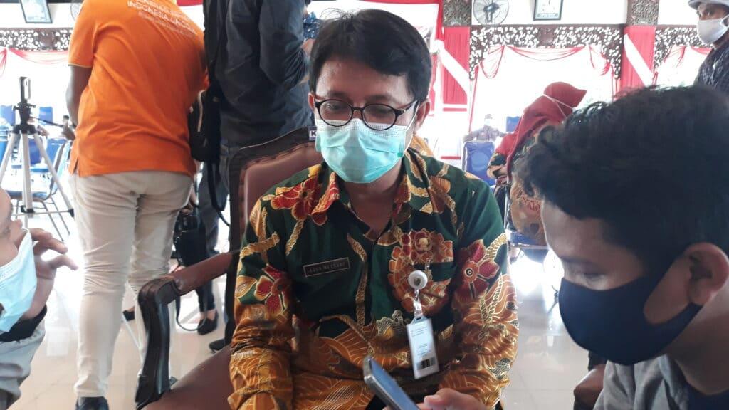 Berstatus penyintas, Bupati Sampang Belum Bisa Disuntik Vaksin Hari Ini !