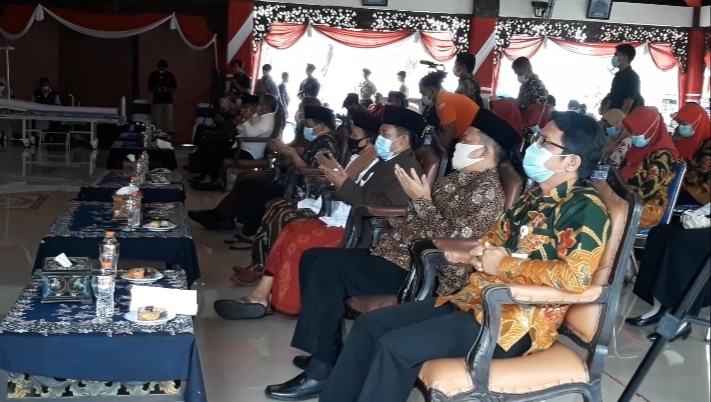 Launching vaksinasi Covid-19 Kabupaten Sampang Madura - Salsabila FM