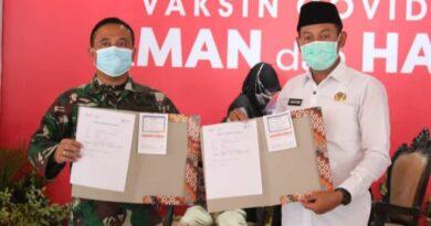 Wakil Bupati Sampang Bersyukur Menjadi Orang Pertama Yang Divaksin Covid-19