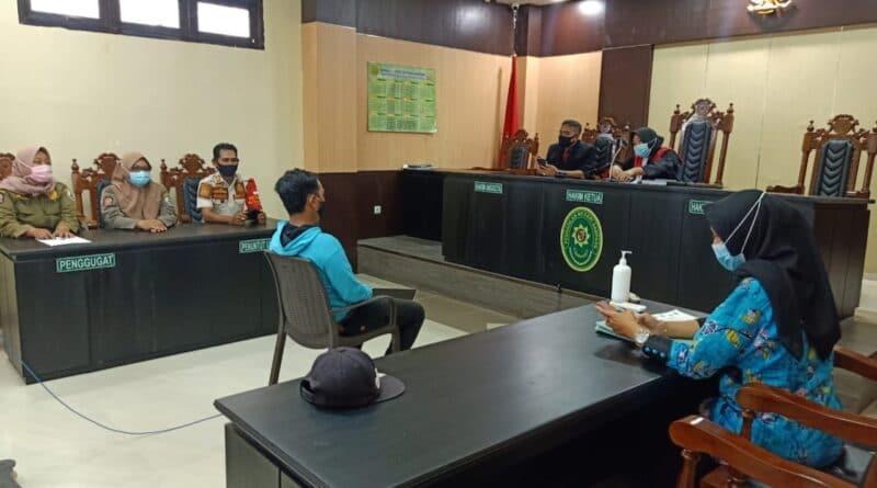 Sidang Tipiring Kasus Pelangaran Protokol Kesehatan Sampang