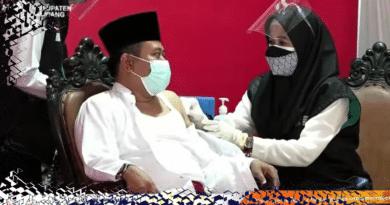 Ketua Tanfidziyah PCNU Sampang Himbau Masyarakat Tidak Takut Divaksin