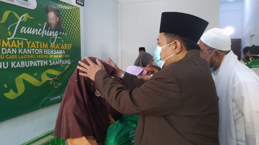 Harlah Ke-98 NU, PCNU Kabupaten Sampang Launching Rumah Yatim Ma'arif