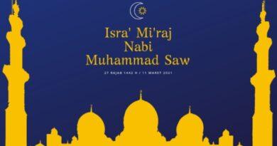 Isra' Mi'raj Nabi Muhammad SAW, Perintah Sholat Lima Waktu