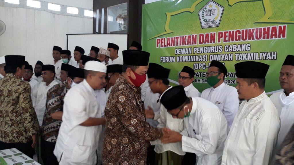 Pelantikan dan Pengukuhan Pengurus DPC FKDT Kabupaten Sampang