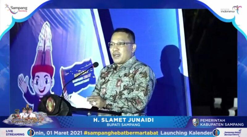 Launching Kalender Event, Bupati : Harus Ada Sinergitas Empat Kabupaten