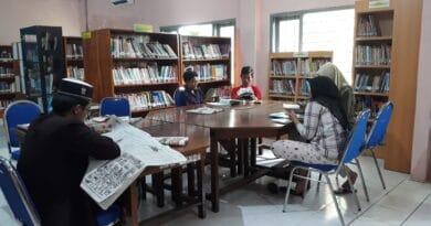 Akibat Pandemi, Jumlah Pengunjung Perpustakaan Sampang Menurun Drastis