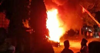 Mobil Operasional PWI Sampang Hangus Terbakar, Ini Sebabnya !