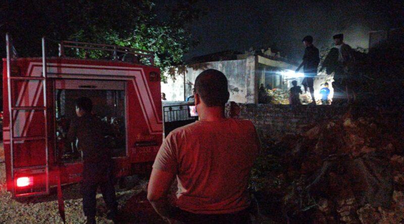 Kebakaran Pasar Omben, BPBD Sampang Himbau Masyarakat Tidak Bakar Sampah Sembarangan