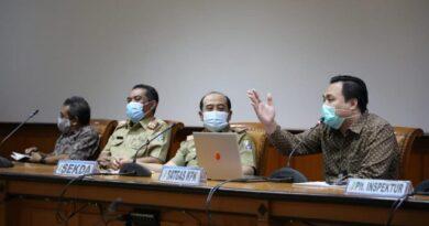 Penilaian KPK ! Laporan MCP Pemkab Sampang Peringkat Kedua Se Jawa Timur