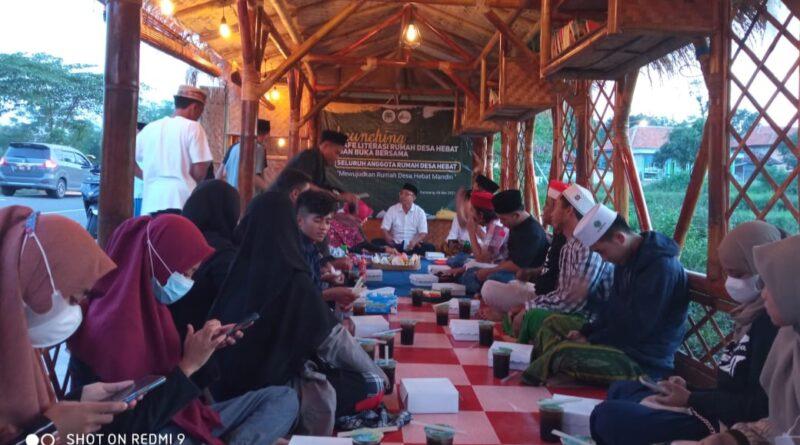Wujudkan Hastag Mandiri 2021, Cafe Literasi Rumah Desa Hebat Dilaunching
