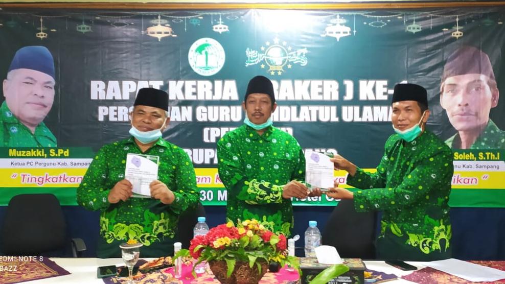Gelar Raker Perdana, Pergunu Sampang Kuatkan Sinergitas