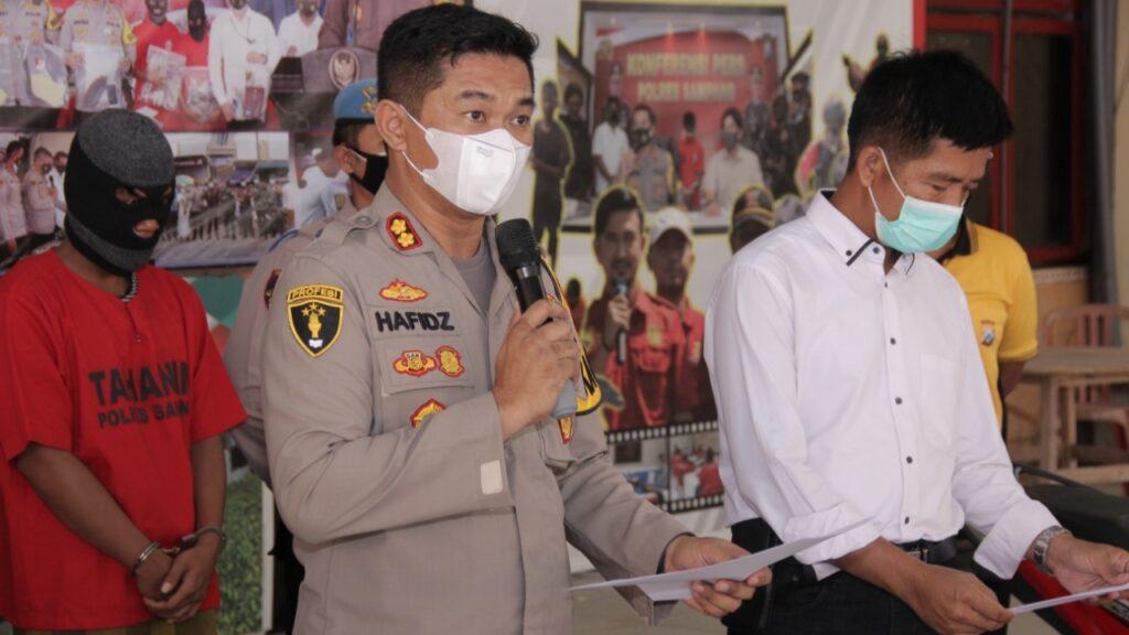 Sampang Rawan Curanmor, Dhemit Reskrim Amankan 3 Tersangka Spesialis Kunci T