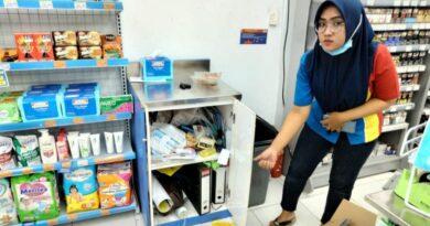 Takut Tertangkap Polisi, Pelaku Pembobolan Indomart Banyuates Sembunyi Dalam Lemari