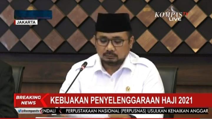 Pemerintah Republik Indonesia Resmi Tidak Memberangkatkan Jemaah Haji 2021
