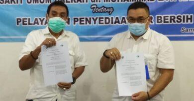 Air Kerap Mati, RSUD dr Mohammad Zyn Tanda Tangani MoU Bersama PDAM Trunojoyo Sampang
