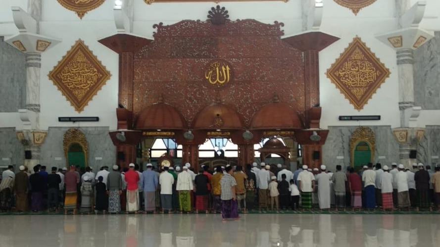 Kemenag Sampang Himbau Sholat Idul Adha dan Penyembelihan Hewan Kurban Taati Prokes
