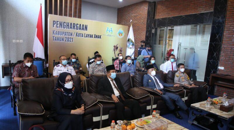 Congratulation ! Sampang Raih Penghargaan Kabupaten Layak Anak 2021