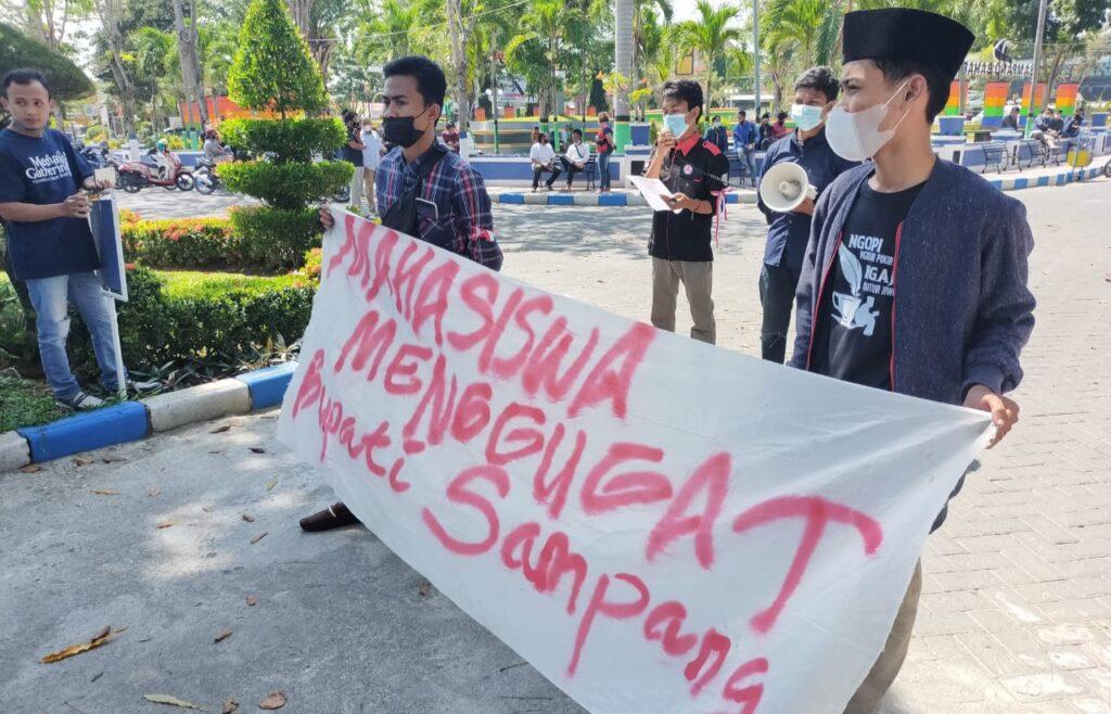 Formasa Gelar Aksi Tagih 3 Pilar Utama Janji Politik Bupati Sampang