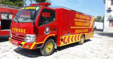 Catat ! Nomor Call Center Baru Pemadam Kebakaran Sampang