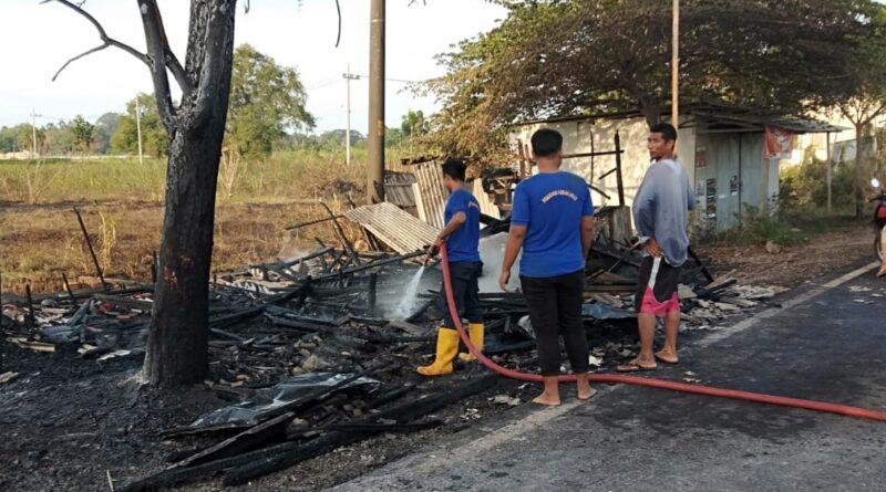 Kebakaran Kembali Terjadi di Sampang Utara, 2 Warung Warga Ludes Terbakar