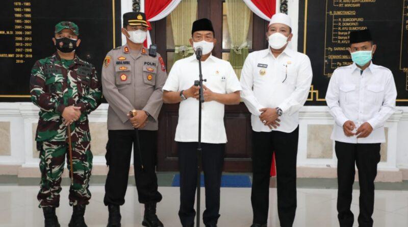 KSP Moeldoko Apresiasi Kinerja Pemkab Sampang Atasi Konflik Sunni-Syiah