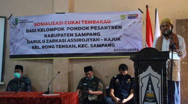 Sosialisasi Cukai Tembakau di Pondok Pesantren Assirojiyyah Kajuk Sampang