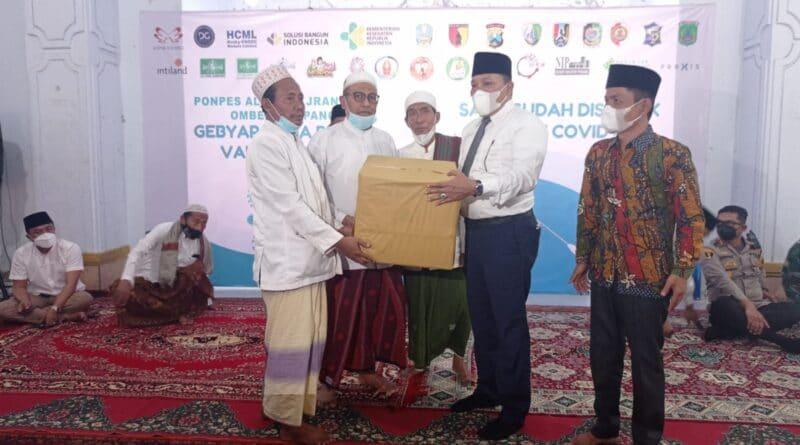 NU Sampang Apresiasi Gebyar 3000 Vaksinasi Untuk Santri Al-Ihsan Jrangoan Omben
