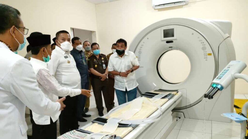 RSUD dr. Mohammad Zyn Sampang Launching CT-SCAN 128 Slice